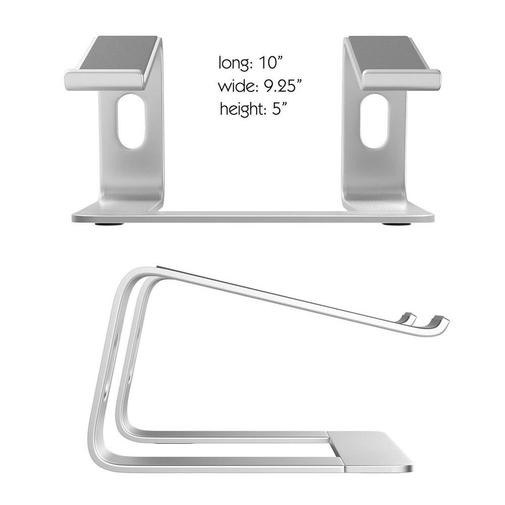 Image 3 - Подставка для ноутбука LARICAR, Алюминиевая Подставка для  MacBook, Портативная подставка для ноутбука, Настольный держатель,  подставка для ноутбука, компьютераПодставка для ноутбука   -