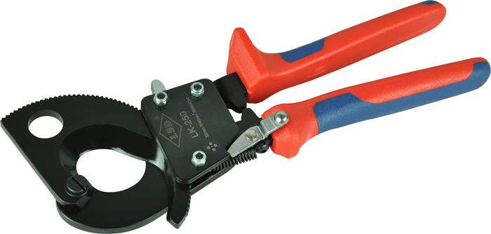 Tools : LK-250 1000V cable cutter tool for cutting max 26 5mm 240mm2 CU AL cable electric wire ratchet cable cutter