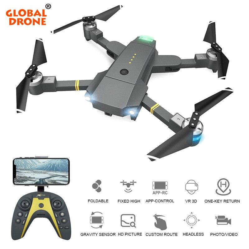 Drone mondial Selfie Drones avec caméra Servo cardan 20 Minutes de temps de vol Quadrocopter caméra volante Dron VS mise à niveau E58