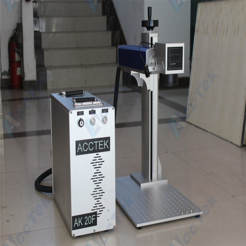 Laser marker 20W 30W 50W cnc Raycus IPG generator 3d mini metal portable optical fiber laser marking machine