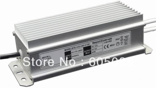 DC12v 60w power supply,led power adapter for led strip/module/bar,CE/ROHS/SAA, 50pcs/lot wholesale, DHL/EMS/FEDEX free shipping!
