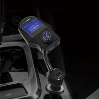 Urbanroad Aux Bluetooth Car Kit Transmissor Fm Sem Fio USB Bluetooth Car Kit Mp3 Player TF Cartão USB Fm Transmissor Handsfree