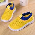 Verano red zapatos del niño masculino zapatos de gasa niño bebé gasa de la red zapatos transpirable zapatos casuales niño femenino de las sandalias suaves