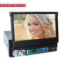 Car Android 4 4 Radio Stereo Universal 7 Capacitive Touch Screen 1Din 1024 600 For GPS