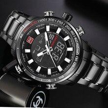 NAVIFORCE Quartz Wristwatch Mens Watches Top Brand Luxury Sport Military Watch Men Clock Stainless Waterproof relogio masculino