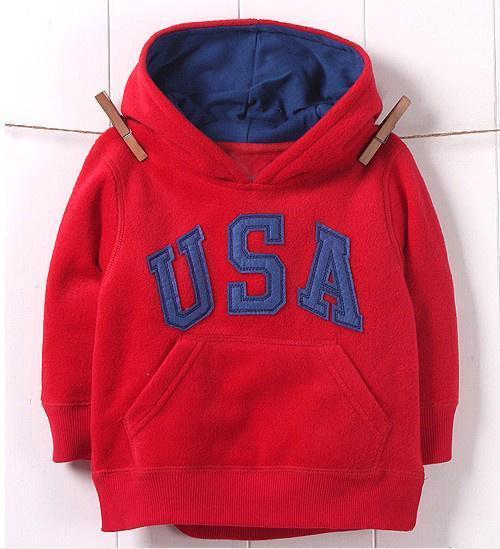 2-6Y Boys Sweatshirt Letter Pattern Long Sleeve Cotton Casual Kids Hoodies Spring Autumn Children Sweater Baby Girls Sweatshirt