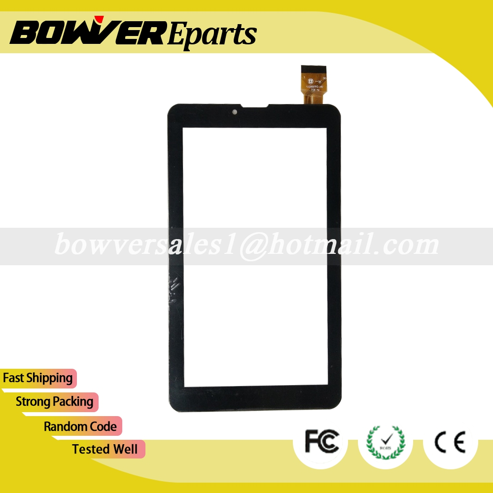 $ A+ 7inch touch screen HS1285 YJ286FPC-V0 Capacitive Touch Screen Panel Digitizer Replacement 186x104mm