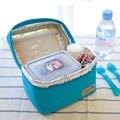 2017 A Estrenar Impermeable Aislado Enfriador Térmica Almuerzo Portable Carry Tote Bolsa de Picnic de Alta Calidad Envío Libre N561