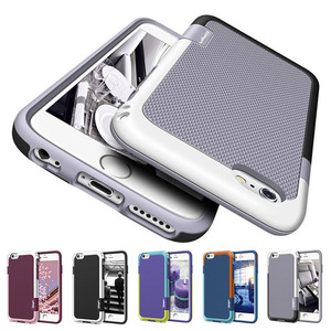 Armor Shockproof Hybrid Defend Case for iPhone X 6S 7 8 Plus XR XS MAX Cover Hard PC Soft TPU Case for iPhone 11 Pro Max Bags(China)