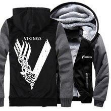 Odin Vichingo felpa con cappuccio con cappuccio da uomo hip hop giacche cappotti uomo divertente felpe Vikings Odin vestiti delluomo più M 5XL tute 2019