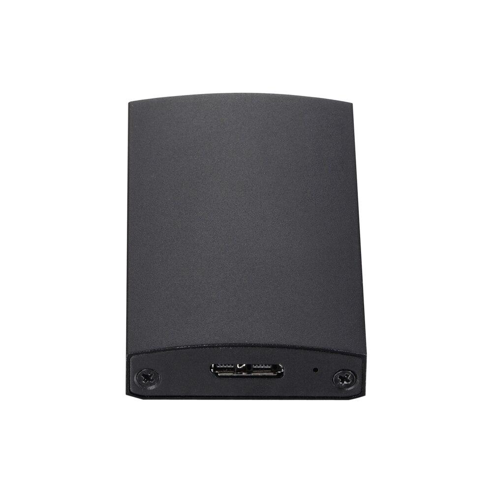 Portable Aluminum mSATA to USB 3 0 M SATA SSD Enclosure High Speed USB SSD Adapter