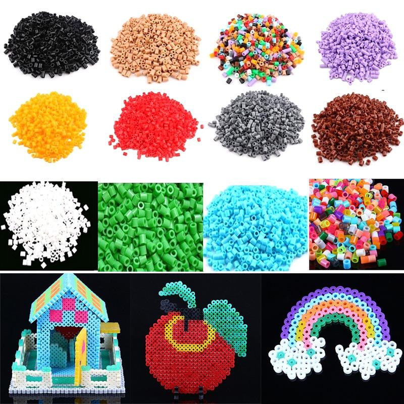 1000pcs mixed color PERLER BEADS for Kids/' Craft great fun