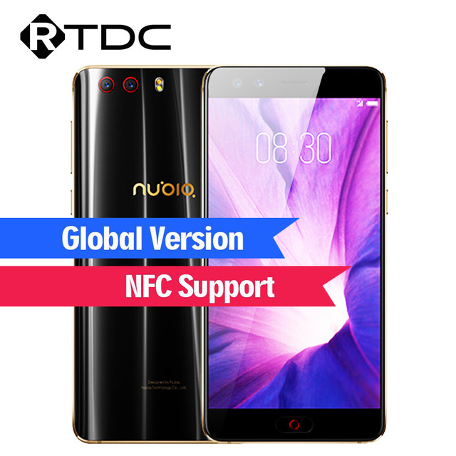 """Global Version ZTE Nubia Z17 miniS 5.2"""" Android 7.1 Cellphone 6GB+64GB Dual Cameras Snapdragon MSM8976 Pro 4G LTE Mobile Phone"""