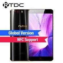 الإصدار العالمي للهاتف المحمول ZTE Nubia Z17 miniS بشاشة 5.2 بوصة يعمل بنظام الأندرويد 7.1 سعة 6 جيجابايت + 64 جيجابايت كاميرات مزدوجة سنابدراجون MSM8976 Pro 4G LTE