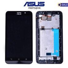 Оригинал испытания 5.5 дюймов ЖК-дисплей для Asus Zenfone 2 Ze551ml Дисплей Сенсорный экран с Рамка планшета для Asus Zenfone 2 Ze551ml ЖК-дисплей