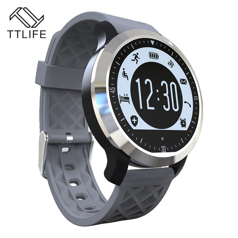 New Fashion TTLIFE Intelligent Clock Sport Watch font b Smartwatch b font Bluetooth Smart Watch Wristwatch