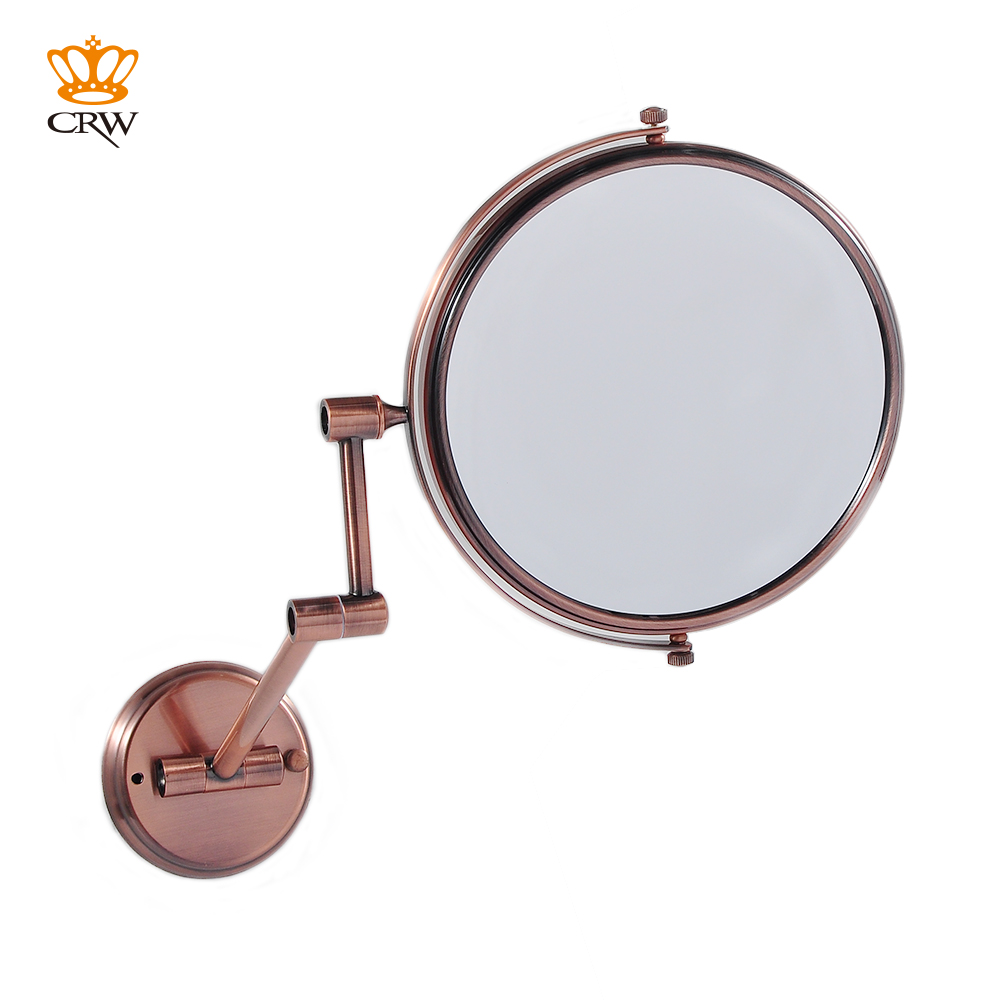 CRW Bathroom Mirror Magnifying Make Up Shaving 2 Face MR15491 Vintage Style 8