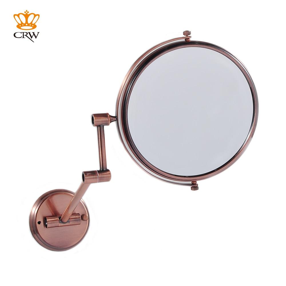 CRW Bathroom Mirror Magnifying Make Up Mirror Shaving Mirror 2 Face MR15491  Vintage Style 8