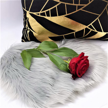 Microfine Furry / Shaggy Carpet Коврик из искусственного меха для дома Гостиная и коврик Дети Коврик