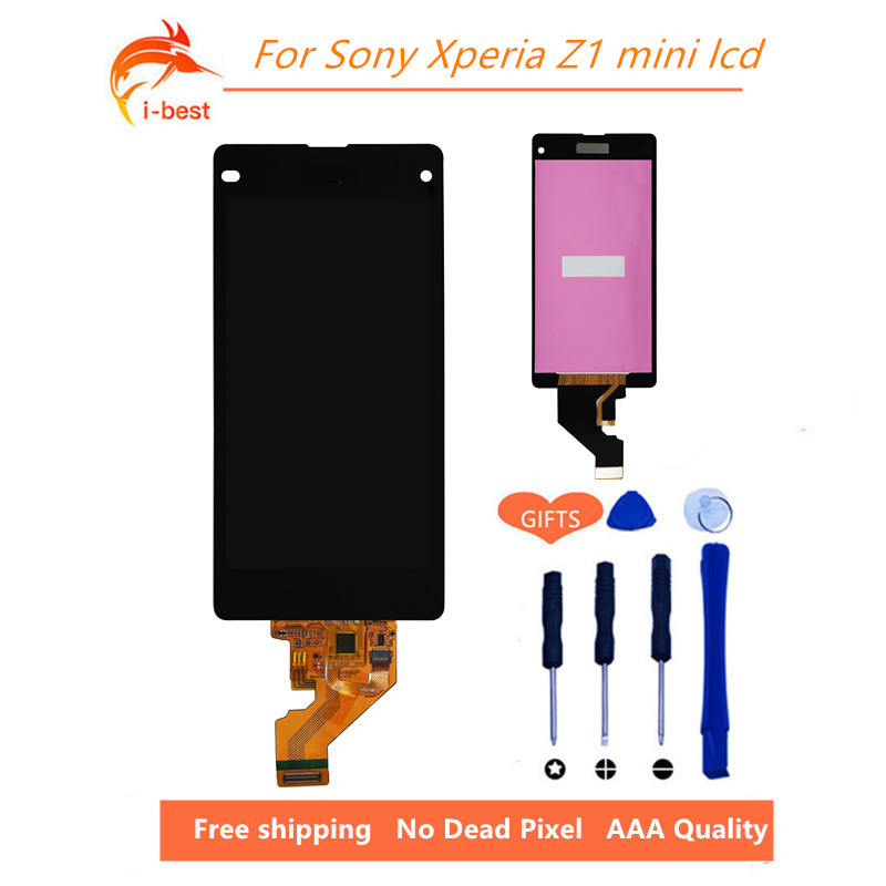 1pcs No Dead Pixel mobile phone display for sony xperia Z1 ...