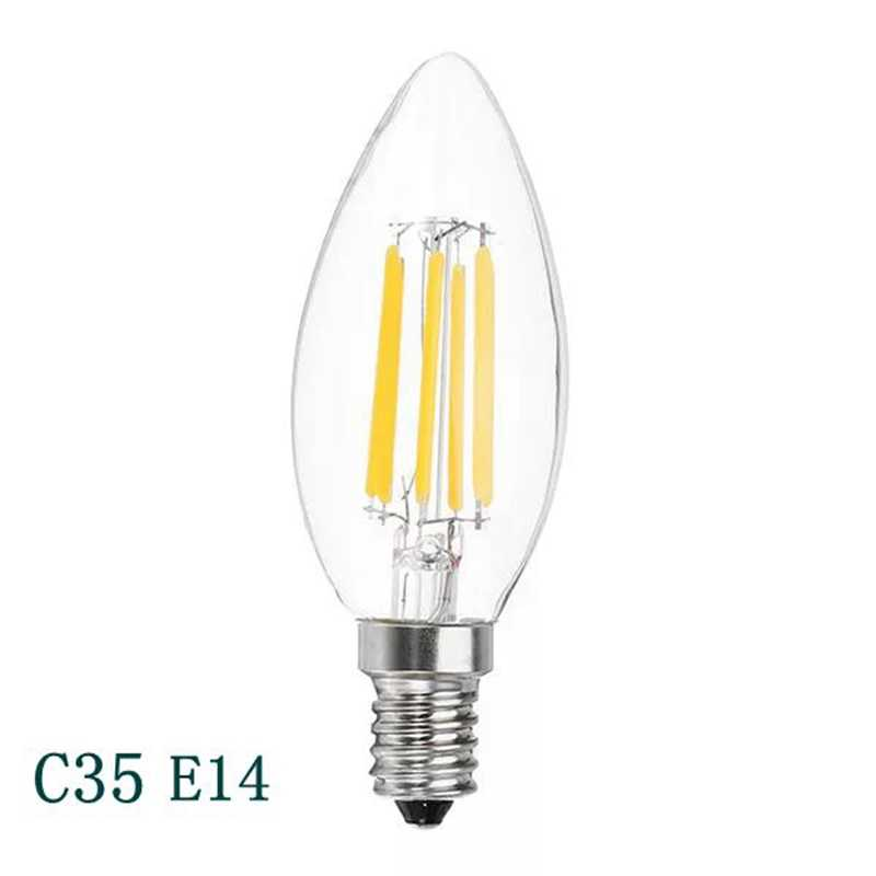 ĐÈN LED Dây Tóc Bóng Đèn E27 220V Vintage Retro ĐÈN Công Nghiệp LED COB Edison Dây Tóc Đèn Xông Tinh ST64 G80 G45 A60 Sáng trang trí
