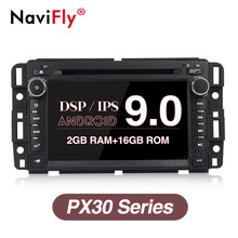 NaviFly Reine Android9.0 IPS DSP Quad core Auto DVD-multimedia-player für Chevrolet Tahoe Traverse BUICK Enclave GMC(China)