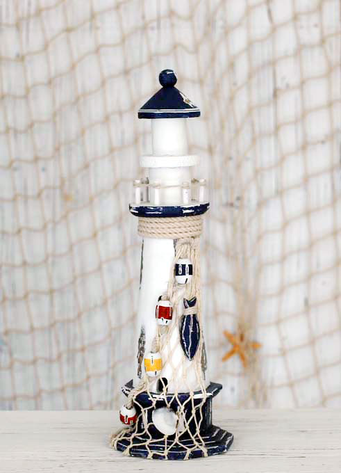 Wood Lighthouse Manualidades Living Room Desk Decoration Nautical Decor Z Home In Figurines Miniatures From Garden On Aliexpress