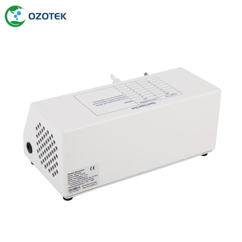 Medizinische ozon generator MOG003 5-99ug/ml 12VDC mit sauerstoff regler für ozon therapie