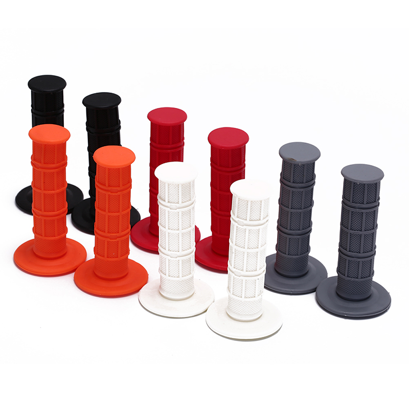 Child Children Kid Kids Bike Bicycle Tricycle Skateboard Scooter Rubber Grip Handle Handlebar Grips Anti-skid Red White Black(China)