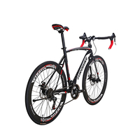 EUROBIKE Road Bikes 21speed 700C Double Brake Mens Frame Size 54cm Road Bicycle