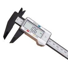 0-150mm Sliver Plastic Measuring Tools Woodworking Vernier Dial Gauge Micrometer Digital Electronic Caliper Rule AT2081