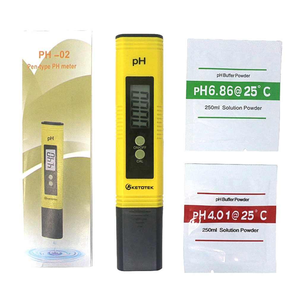 Medidor Digital PH TDS probador bolígrafo portátil 0,01 Filtro de alta precisión Medición de la calidad del agua herramienta de prueba de pureza para piscina de acuario