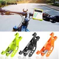 Baseus Flexible Bicycle Phone Holder For IPhone 7 6 Samsung 4 6 Inch Bike Mount Mobile