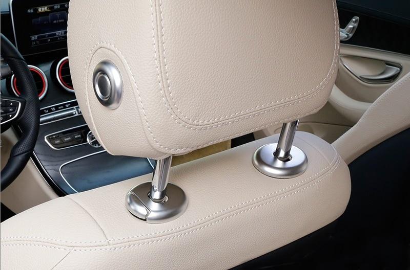 Кнопки стайлинга автомобилей Headpillow регулировки сиденья переключатель Крышка отделка наклейки с блестками для Мерседес-Бенц Б мл GL класс w205 на ГЛЕ