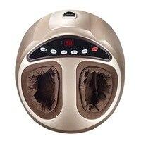 Удаленный Управление массажер для ног 4D массаж ног Замес воздуха Давление машины Отопление терапии инструмент здравоохранения США Plug