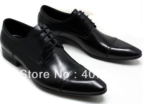 Wholesale New men's dress leather shoes // men's fashion leather shoes size:38-45