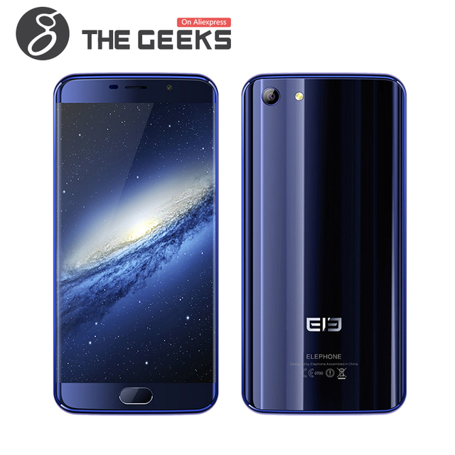 Original Elephone S7 (3+32) Mobile Phone Helio X20 MTK6797 Deca Core 5.5 Inch FHD Screen touch ID Android 6.0 4G LTE Smartphone