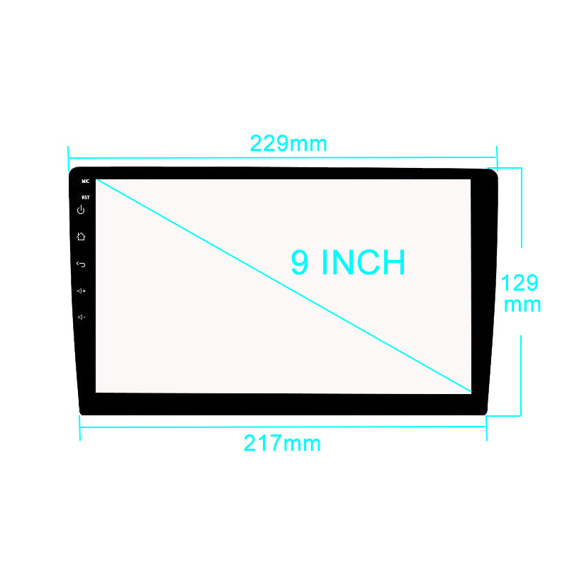 Car tempered glass radio for radio dvd gps lcd full touch screen car tempered glass radio for radio dvd gps lcd full touch screen film sticker protective 9 inch tape recorder stereo autoradio in car stickers from fandeluxe Gallery