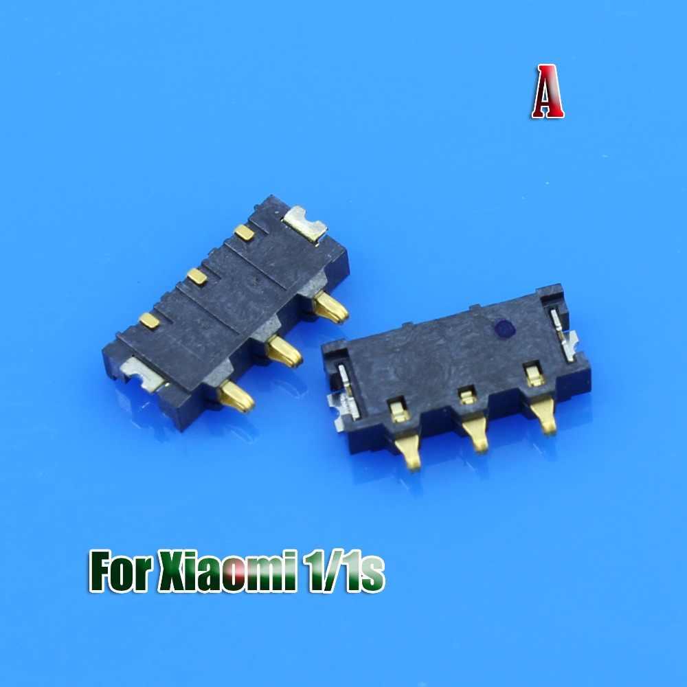 Innerlijke FPC Connector Batterij Houder Clip Contact Voor Xiaomi Mi1 1 S Mi2 2 S 4C 4i 3 Mi4 note Voor Redmi 1 Note 2 Op moederbord