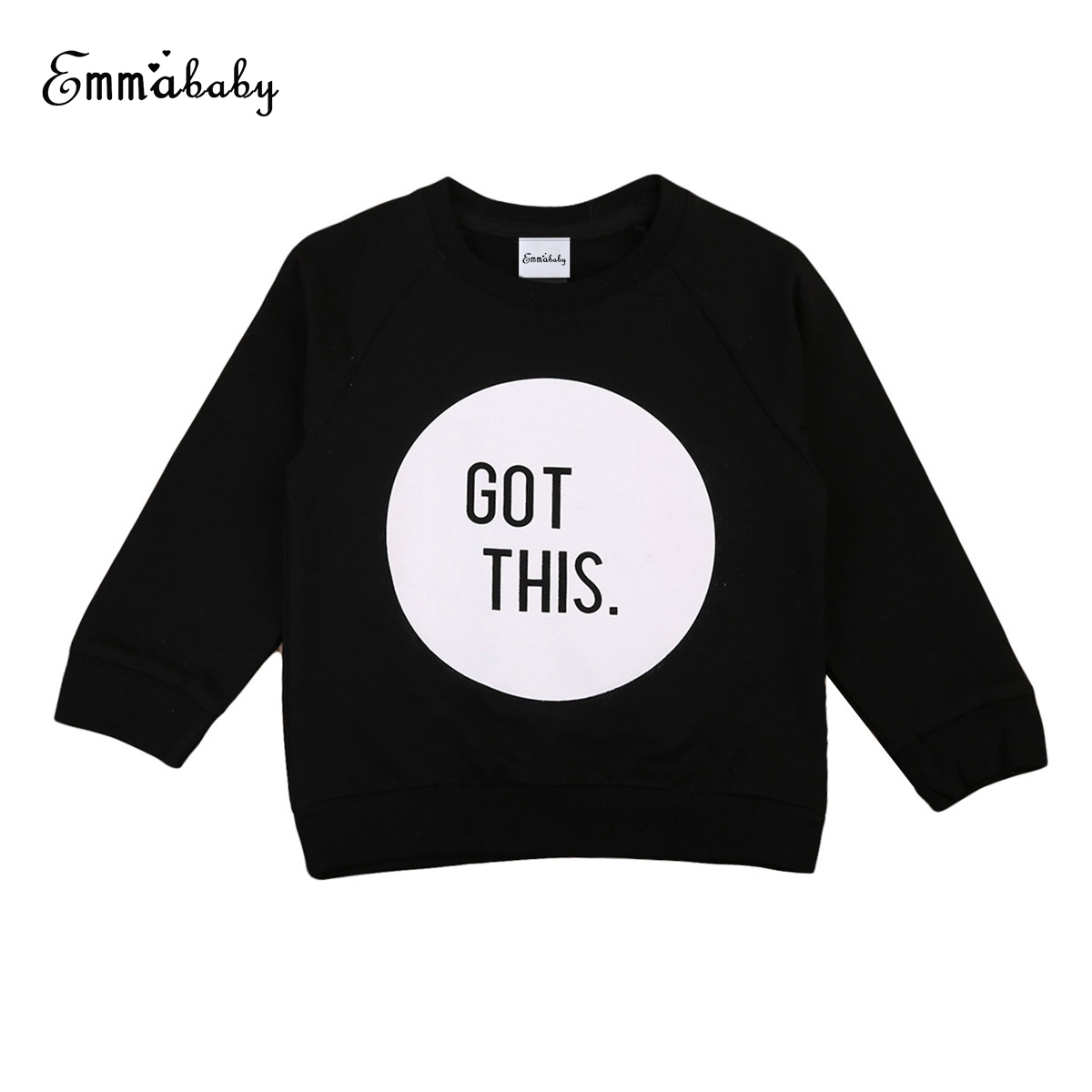 2018 Autumn Clothing Toddler Baby Boys Long Sleeve Sweatshirt Black Grey t Shirt Girls Shirts Warm Hoodies Clothes Tops 2018 child cartoon sweatshirt hoodies for girls long sleeve t shirt for boys baby girls clothes spring sport t shirts boys