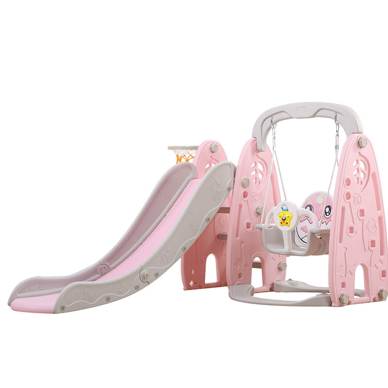 Multifunctional Slide 1-8 Years Old Children Indoor Home Kindergarten Baby Outdoor Plastic Slide Swing Combination 4in1 Slide