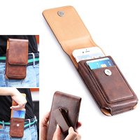 Rotary Holster Belt Clip Mobile Phone Leather Case Pouch For Xiaomi Redmi 4 4a 4X Note