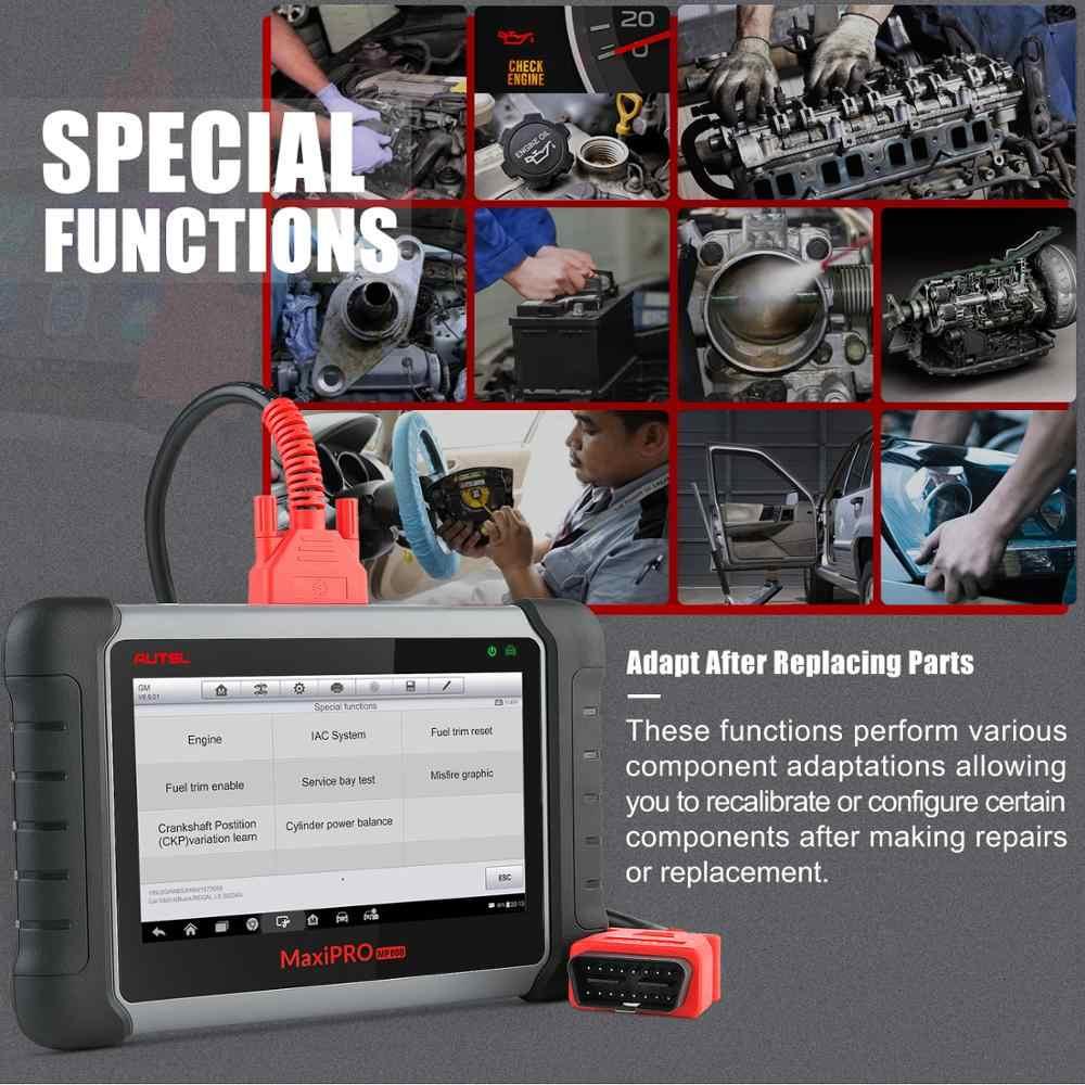 autel maxipro mp808k outil de diagnostic automobile lecteur de code obd2 scanner pour vehicule vag com
