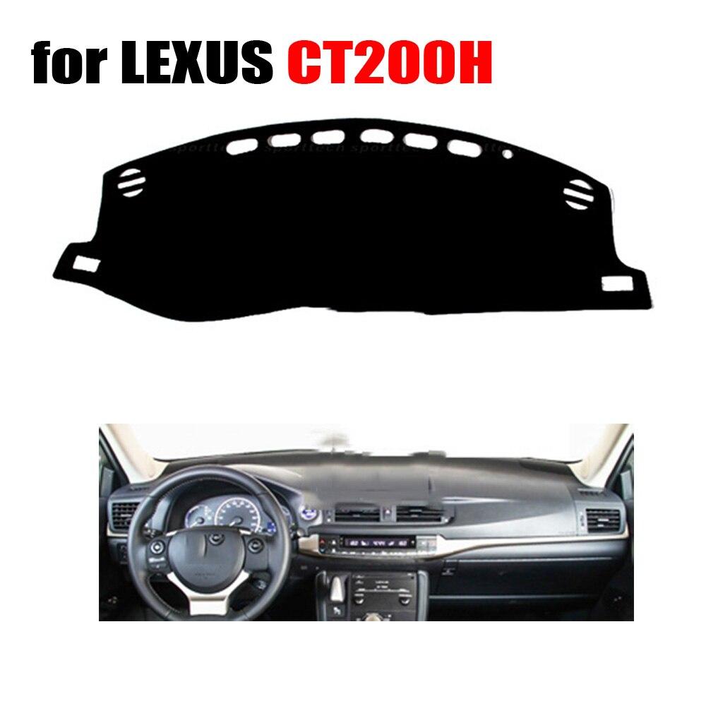 Tableau de bord de voiture tapis de couverture pour lexus ct200h faible configuration gauche conduite