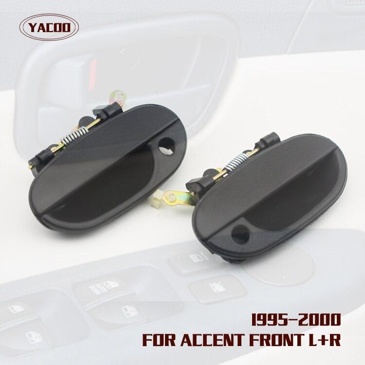 95-99 Accent 3Door Corner Light Turn Signal Side Marker Lamp Left Right Set PAIR