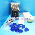 DIY Full Door Fingerprint Access Control Kit  with NO Electric Strike Lock  Waterproof Fingerprint Access Control System IP65