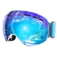 Sunglasses skiing equipment snowboarding snow skiing ski goggles for glasses snow board ski mask goggles