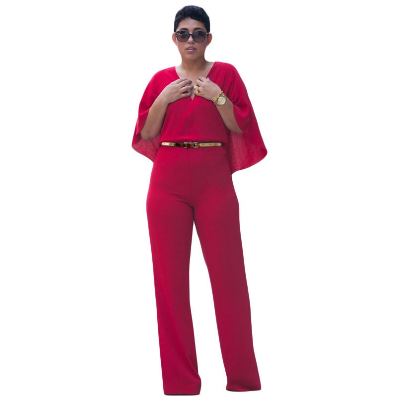 Popular Red Caped Jumpsuit-Buy Cheap Red Caped Jumpsuit lots from ...
