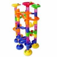 105 шт. поделки строительство мрамор выполнения лабиринт трек строительные забег доли трубопровода тип конструкторы детские развивающие блок игрушка для детей