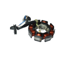 Motorcycle 4 Wire 8 Poles Full Wave AC For Yamaha JOG100 ZY100 RS100 RSZ100 Magneto Stator Coil Generator Spare Parts